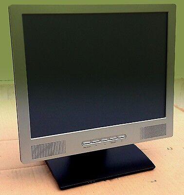 "Monitor 15"" Touchscreen Monitor, Kassenmonitor USB mit lautsprecher 1J. Garantie"