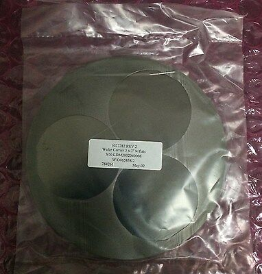 Emcore 1027282 Rev2 Wafer Carrier 3X3 Wflats S N Gdm2002040010