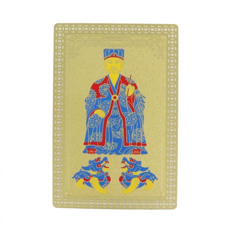 Feng Shui Metal Tai Sui Card 2021