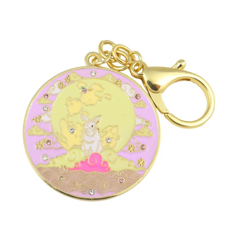 Feng Shui Love Amulet with Moon Rabbit