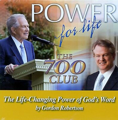 700 Club Power For Life Cd  The Life Changing Power Of Gods Word  G  Robertson