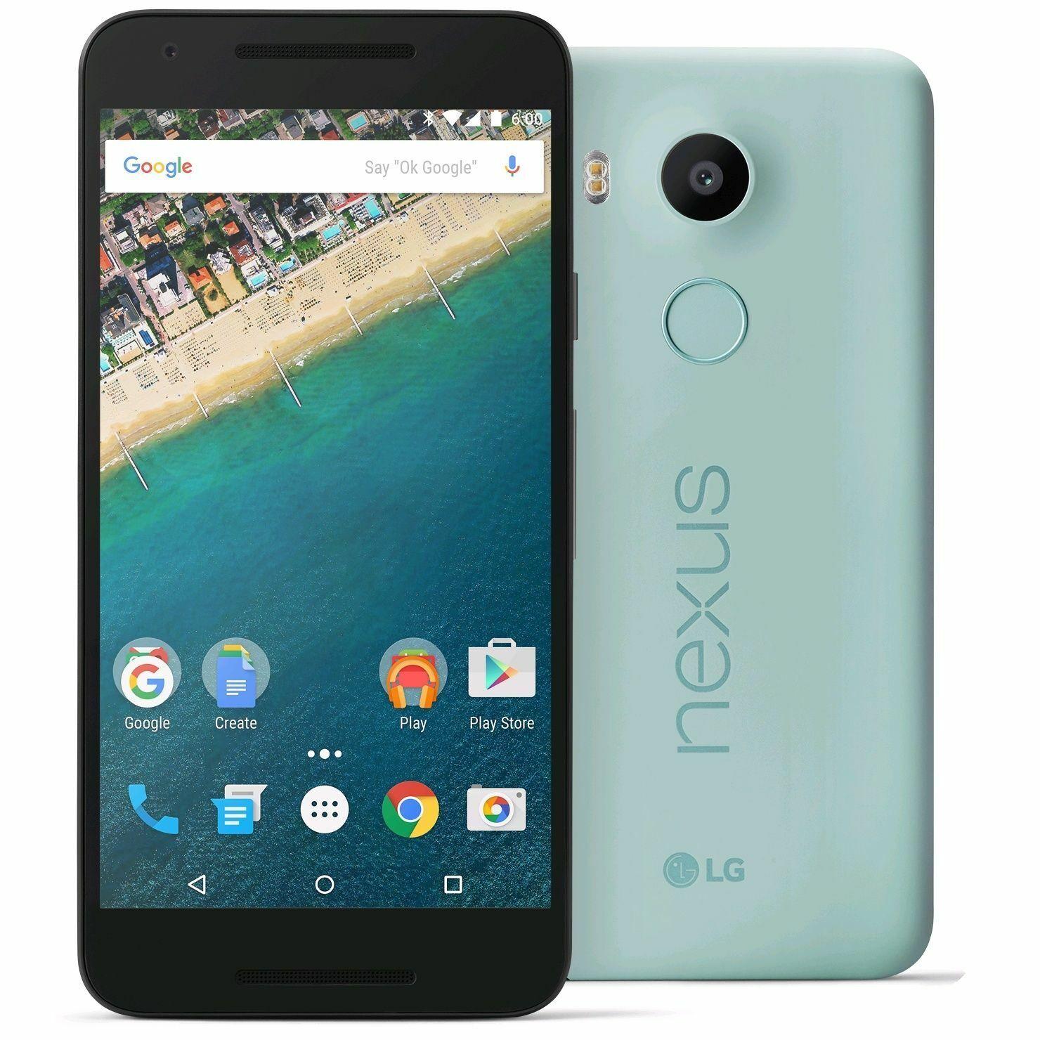 """LG Google Nexus 5X H791 32GB  5.2"""" HD - Mint Green"""