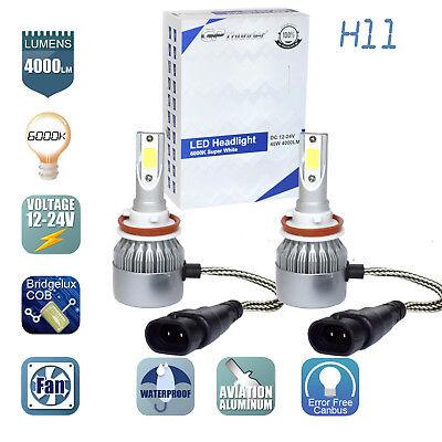 GP Thunder Cree LED Headlight H11 6000K Low Beam Fog DRL Bulb White