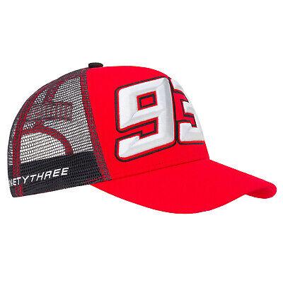 2019 Marc Marquez #93 MotoGP GREY Trucker Style Baseball Cap Adult One Size