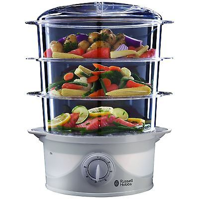 Russell Hobbs 3 Level Food Steamer FOR OVERSEAS 220 VOLTS