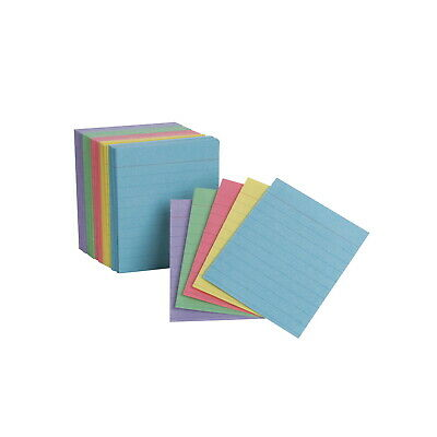 Oxford Mini Ruled Index Cards 3 X 2-12 Inches Assorted Colors Pack Of 200