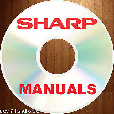 Sharp Copier Accessory (Complete SHARP Accessories Copiers SERVICE Manual & Parts MANUALS  on)