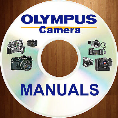 Olympus OM-1 OM1 CAMERA SERVICE REPAIR, OWNER, PARTS MANUAL -34- MANUALS Set CD