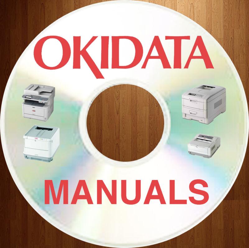 Oki OKIDATA Printer MFC Copiers Printers Multi SERVICE Repair Manual MANUALS DVD