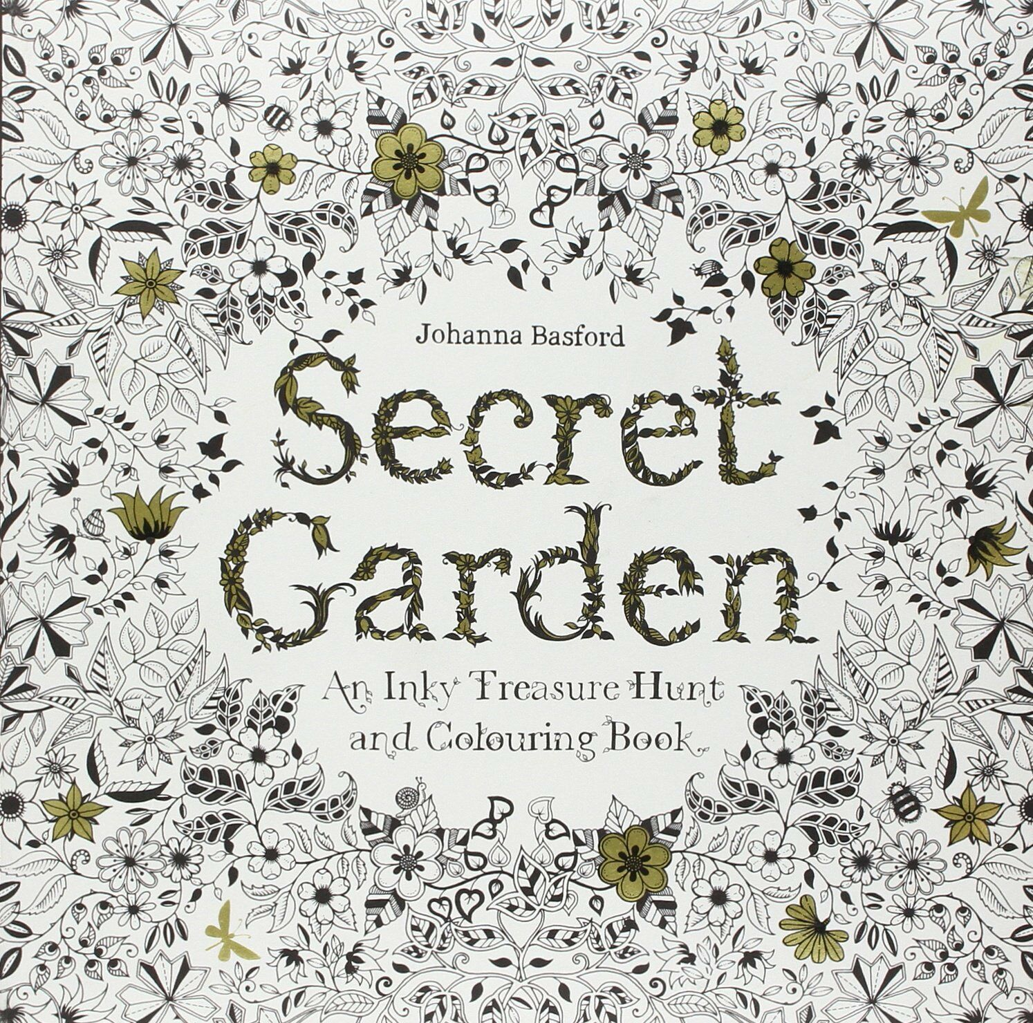 This Interactive Activity Book Takes You On A Ramble Through Secret Garden Created In Beautifully Detailed Pen And Ink Illustrations