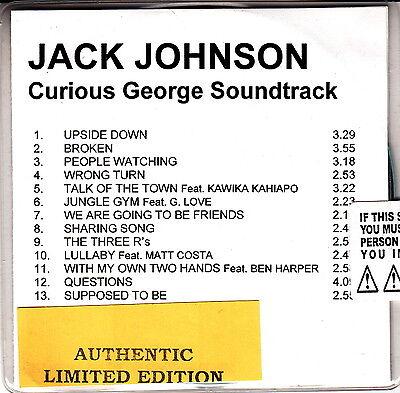 jack johnson curious george soundtrack cd promo Curious George Soundtrack
