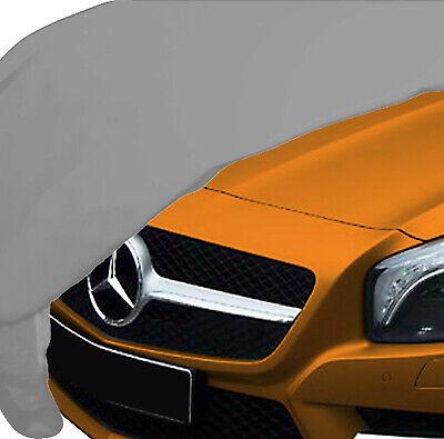 Mercedes SL R231 Indoor Auto Cover Ganzgarage silber weich Spiegel atmungsaktiv
