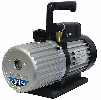 Mastercool 90066-b-sf Spark Free 6 Cfm Vacuum Pump For 1234yf Systems 90066bsf