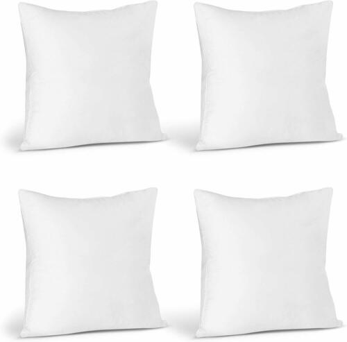 Pack of 4 Throw Pillows Insert Bed and Couch Pillows  Utopia Bedding