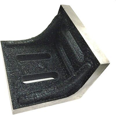 Slotted Webbed Angle Plate- Stress Relived High Grain Caste Iron Machine Tools