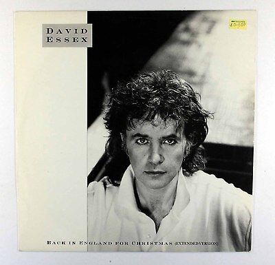 "David Essex - Back In England For Christmas (Extended Version) (UK 12"" Vinyl)"