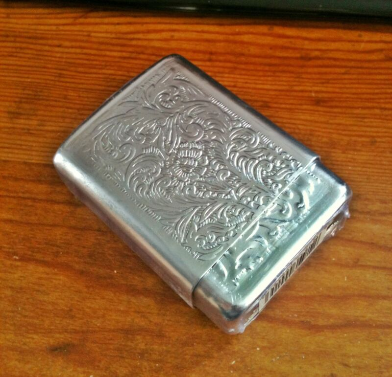 Fujima Aluminum Strong Box King Size (Reg.) Cigarette Case