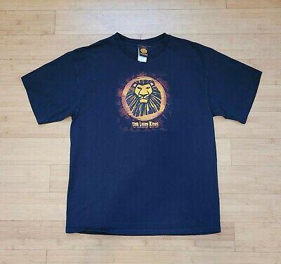 Vintage Lion King Shirt The Broadway Musical Disney Movie Men's XL Mufasa Simba