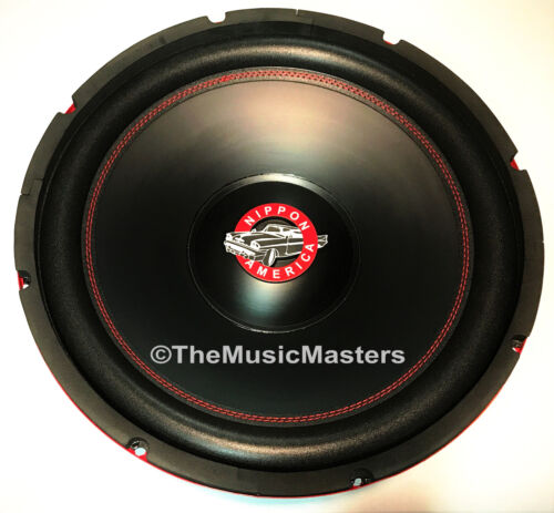 "15"" inch Home Stereo Sound Studio WOOFER Subwoofer Speaker Bass Driver 8 Ohm Sub"
