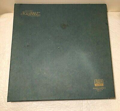1977 Scrabble Deluxe Edition Original S&R Games (Turntable) In Original Box