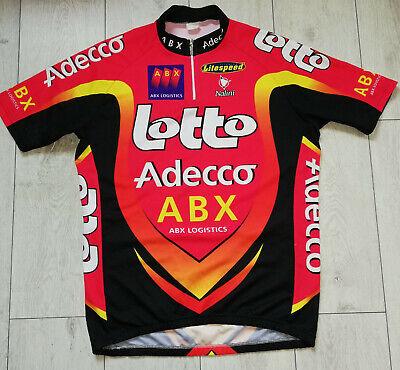 "Lotto Adecco ""L"" Nalini Cycling Shirt Trikot Jersey"