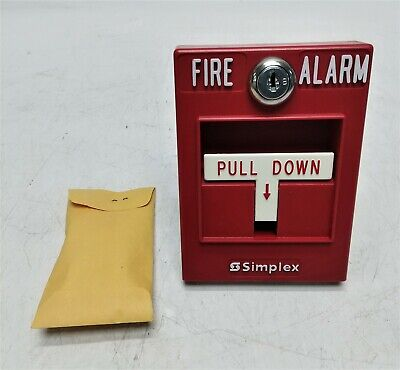 Open Box Simplex Fire Alarm Pull Station Single Action 2099-9101