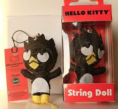 Hello Kitty Badtz Maru String Doll toy Figure Keychain Voodoo phone charm strap](Hello Kitty Voodoo Doll)