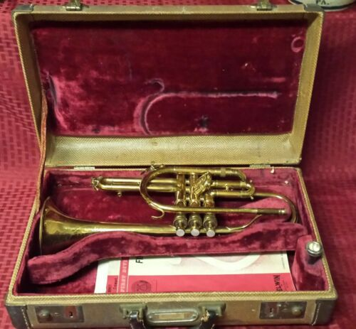 Vintage King Master Coronet #316933 H.N. White Original King Case