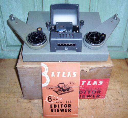 Vintage Atlas 8mm Editor/Viewer Model 880 Made in japan