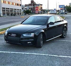 Audi S4 2016 black optique