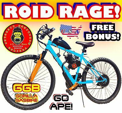"PRIME APE 50 80 CC GAS MOTOR MOTORIZED ENGINE /& 26/"" BIKE BICYCLE SCOOTER KIT DIY"