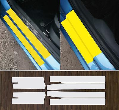 Lackschutzfolie transparent Einstiege Türen Türeinstiege für Skoda Fabia 3