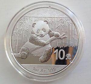 2014 Silver Chinese Panda 1oz 999 Silver Bullion Coin