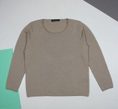 Women's IRIS VON ARNIM Cashmere Pullover Jumper Sweater Beige (L/XL)