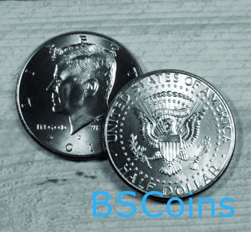 2015 Kennedy Half Dollar - 2 Coin Set P&d - Bu - In Stock - Ship Today!!