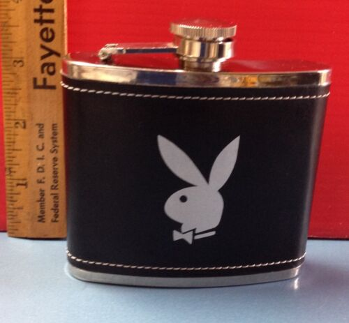 Playboy Stainless Steel 5 oz Flask