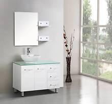 Bathroom Vanity Set Free standing with Basin 1000 Cabinet Mirror Underwood Logan Area Preview