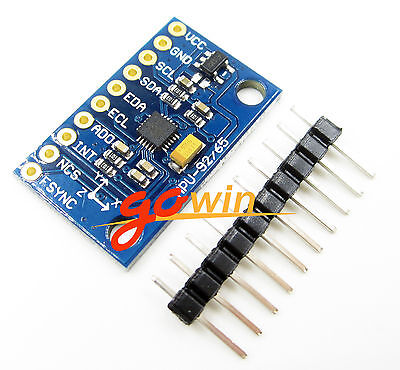 5PCS SPI/IIC MPU-9250 9-Axis Attitude +Gyro+Accelerator+Magnetometer Sensor