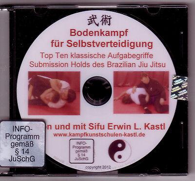 DVD Top Ten Submissions Brazilian Jiu Jitsu  Grappling Ringen Aufgabegriffe 8