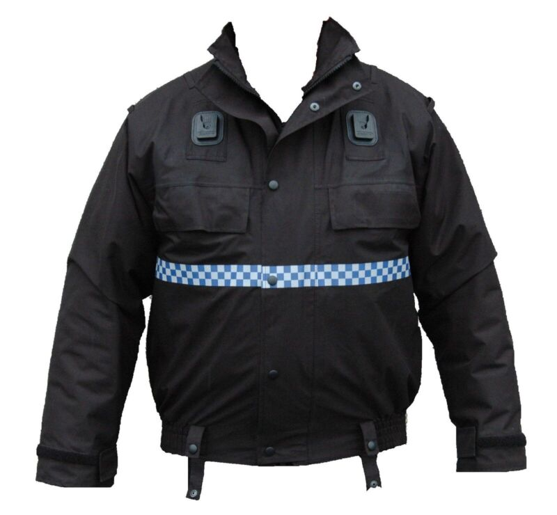 Ex Police Waterproof Blouson Bomber Jacket Unlined Security Dog Handler PBJ01NLB