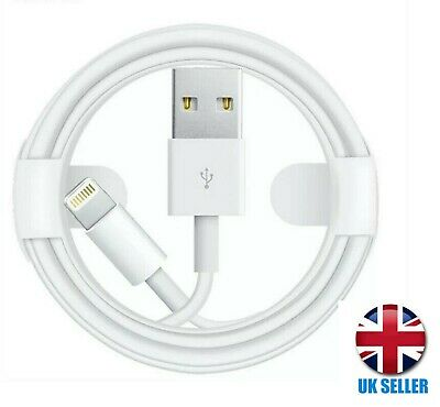 Genuine iPhone Charger Lightning Cable USB Lead 1M 11 XR XS X 8 7 6S 6 5S 5