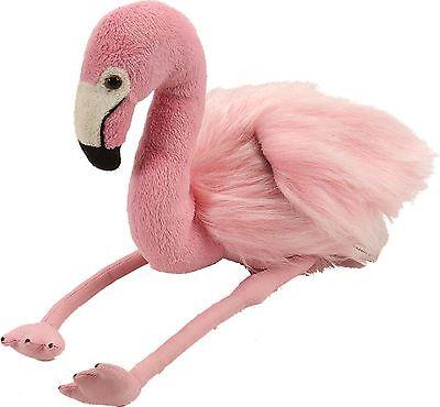 Wild Republic Plüschtier Stofftier Kuscheltier Vogel Flamingo Elisa 20 cm ()