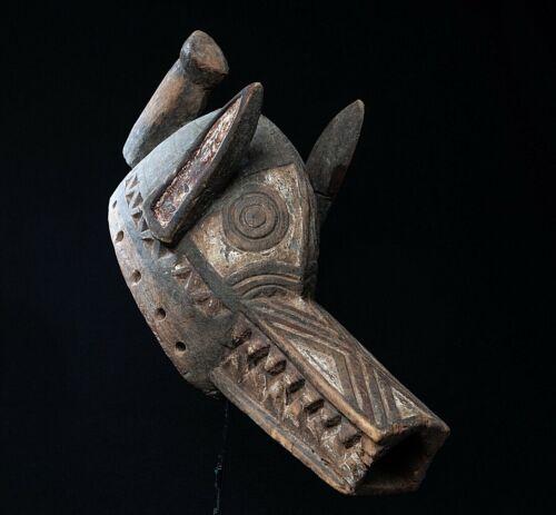 Bobo, Fing Gurunsi, Nuna Crocodile Mask, Burkina Faso, Mali African Tribal Masks