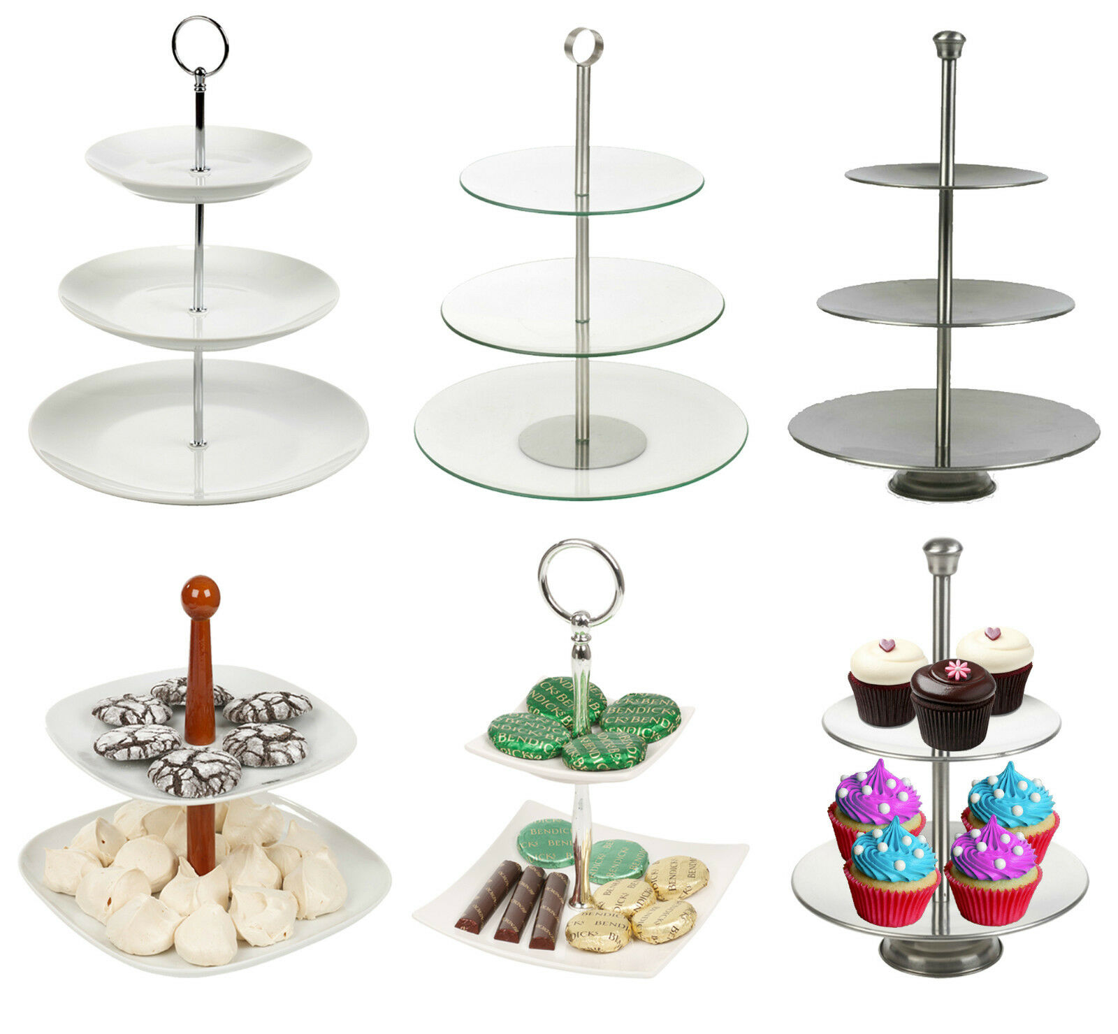 Riser That Can Be Used As A Cake Satand