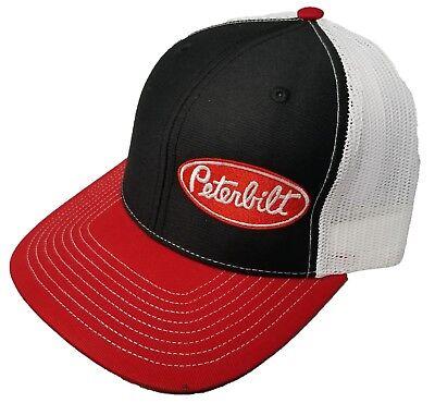 Richardson Peterbilt Logo Snapback Hat, Custom, Trucker Cap for Men and Women