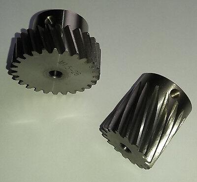 """/& 8mm 15T Pinion Gear 2x24/"""" pcs CNC Stepper Motor Mech Rack /& Gear 48/"""" Rack"""