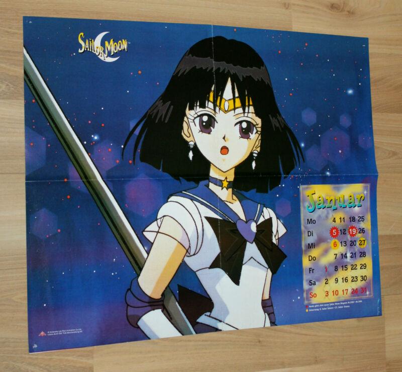 Sailor Moon Manga Anime Rare Old Poster 56x44cm