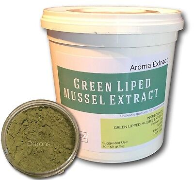 Green Lipped Mussel Extract 350gm Tub - GLM Aroma - New & Exclusive Fishing Bait