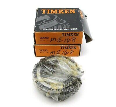 Lot Of 2 - Timken 39590 Bearings - Nos