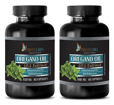 Oregano Oil 1500mg Healthy Skin Supports Digestive Respiratory Immune System 2B